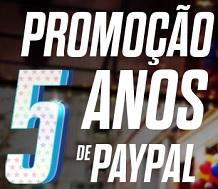 Participar Promoção Paypal 5 Anos