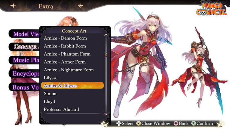 Nights of Azure Save Game | Manga Council