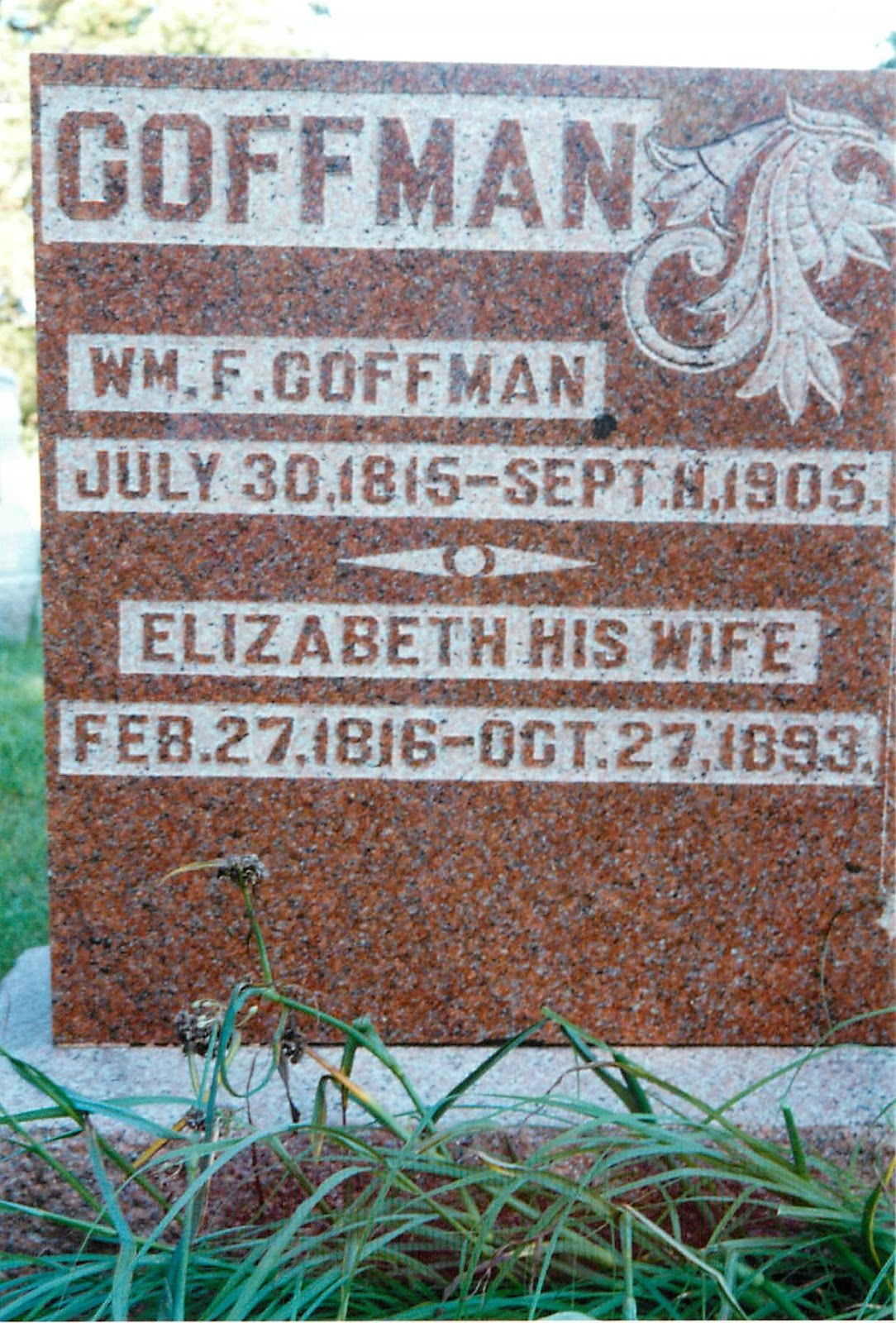 Illinois adams county fowler - William And Elizabeth Wilson Coffman Were Born In Kentucky And Came When Children With Their Parents To Illinois At So Early A Day That Indians Were