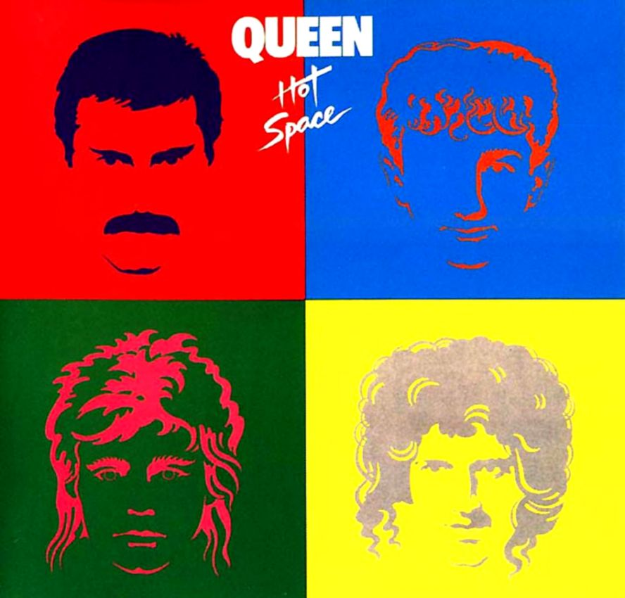 Queen Hot Space Music Poster Hd Wallpaper Wallpapers Comp