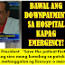 ATTENTION: NO DOWN PAYMENT REQUIRED IN CASES OF EMERGENCY!!