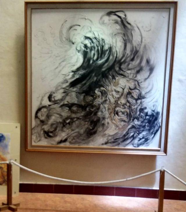 Foto-Foto Museum Affandi Serta Lukisan Karya Seni Rupa Maestro