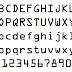 カクカクの機械文字「OCR-A」