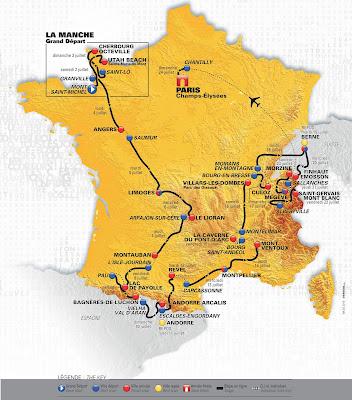 parcours Tour de France 2016