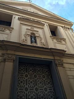 The Church of San Rosario in Via Tasso