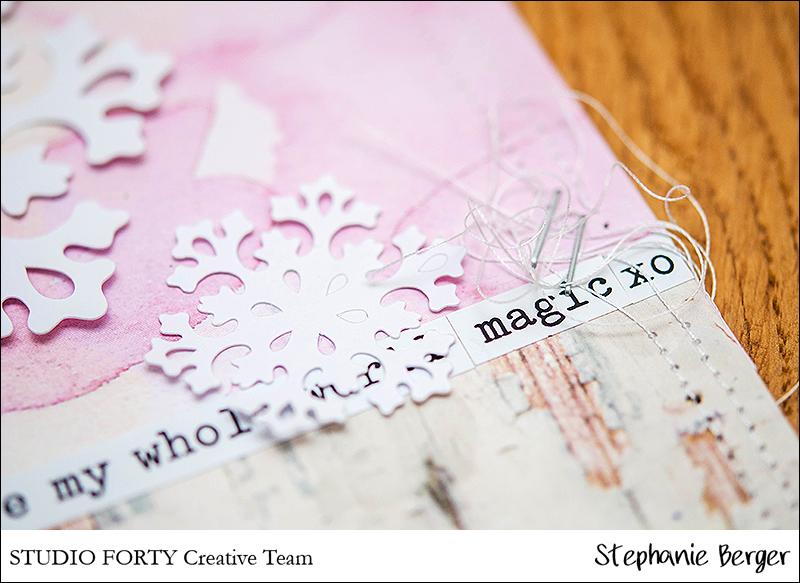 Stephanie Berger - Scrapbooking - StudioForty- Winterwonderland