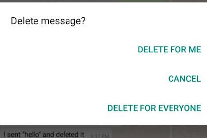 Cara Mudah Melihat Riwayat Notifikasi WhatsApp di Android