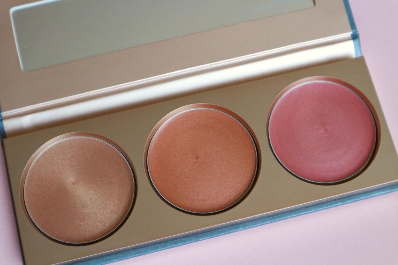 bareminerals twilight radiance highlighter trio palette