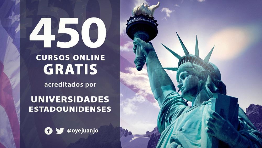450 Cursos Gratis Acreditados Por Universidades Estadounidenses