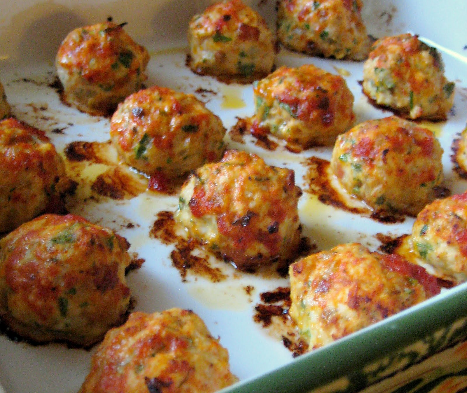 Dandy Dishes Baked Chicken Meatballs
