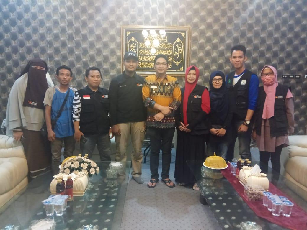 Silaturahim Dengan Wakil Walikota Palu Pasha Ungu