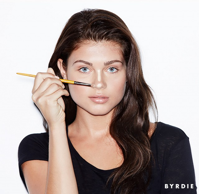 How To Contour Your Nose Easily