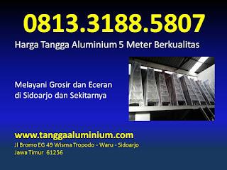 Harga tangga aluminium 5 meter berkualitas