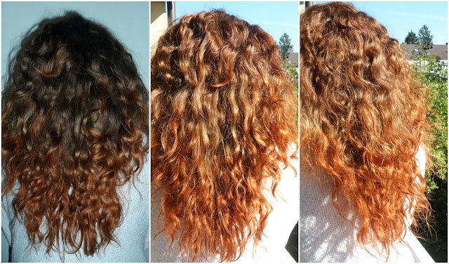 loreal color ombres preference dip dye look copper review. Black Bedroom Furniture Sets. Home Design Ideas