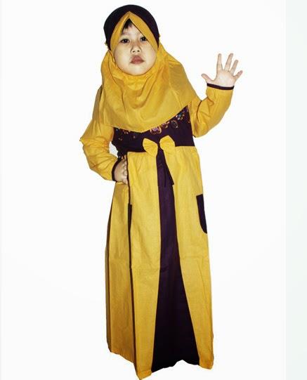 Baju Muslim Anak Perempuan Model Gamis
