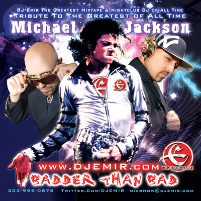 Michael Jackson Mixtape Cover Design