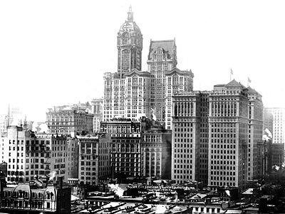 Singer Building (New York USA).