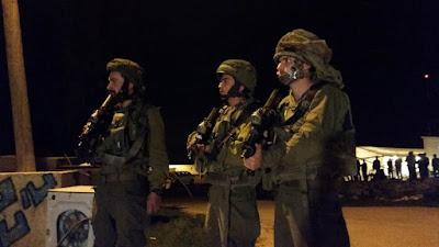Mísseis lançados de Gaza, soldados baleados na Rota 443