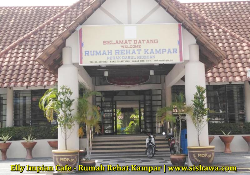 Menjamu Selera Tengahari Di Elly Impian Cafe , Rumah Rehat Kampar , Perak