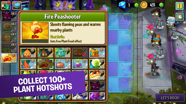 Plants vs Zombies 2 Update Free APK Data Obb - CatatanDroid.com