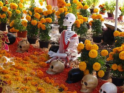 Marigold Flowers Dia de los Muertos