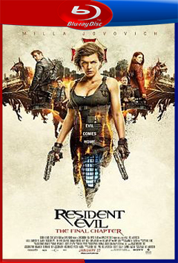 Resident Evil 6: O Capítulo Final (2017) BluRay Rip 720p/1080p Torrent Legendado