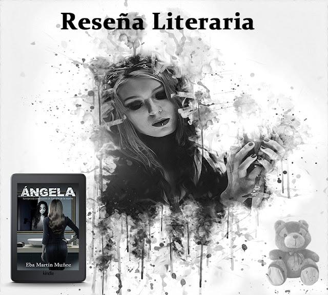 RESEÑA ÁNGELA. Blog Negro sobre Blanco. Composición María Loreto Navarro P