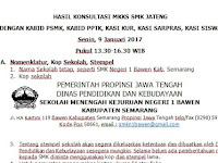 Hasil Konsultasi MKKS SMK Jateng dengan Kabid PSMK