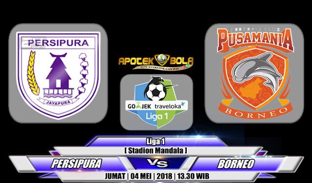 Prediksi Persipura Jayapura vs Pusamania Borneo 4 Mei 2018