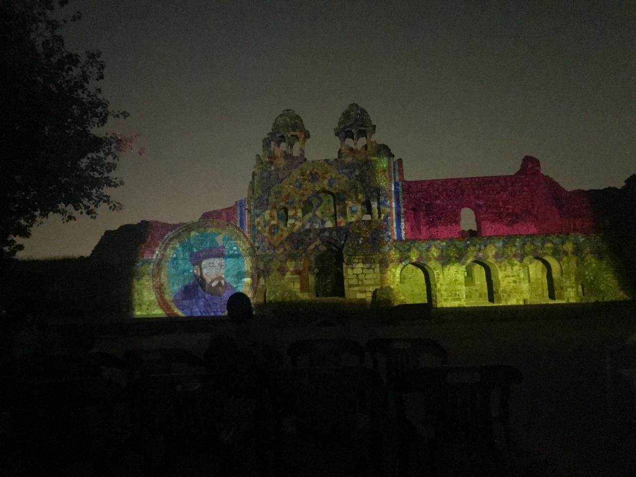 Old Fort Light and Sound Show