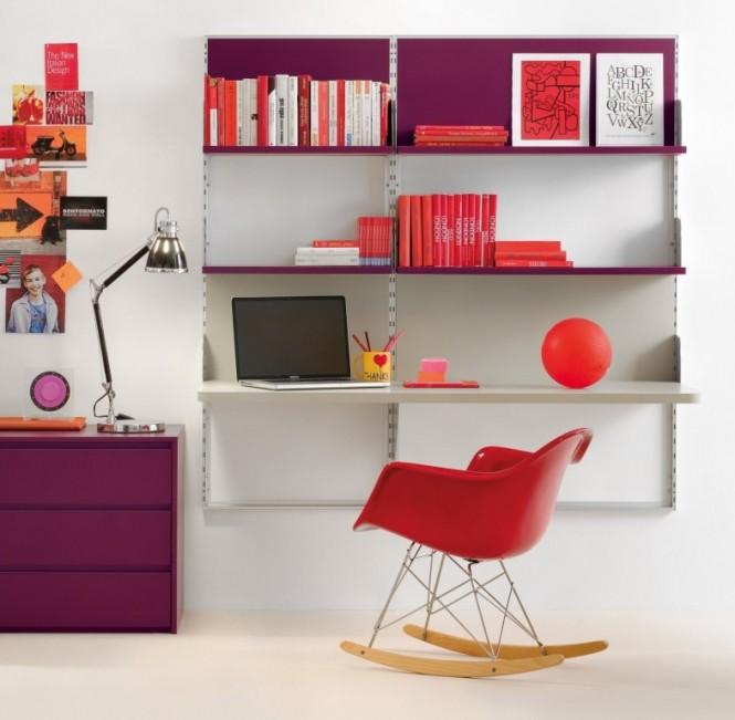 Sophisticated Home Study Design Ideas: Decoración De Interiores: Escritorios Modernos Para