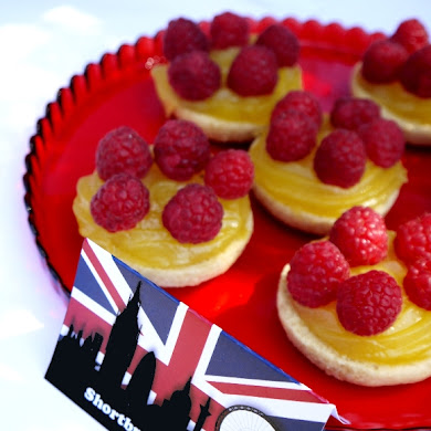 Shortbread & Raspberry Mini Summer Tarts Recipe