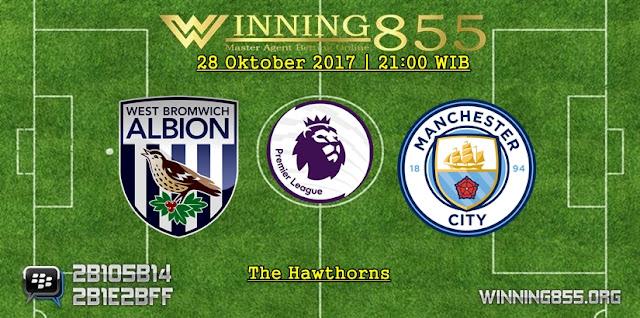 Prediksi Skor West Brom vs Manchester City | 28 Oktober 2017