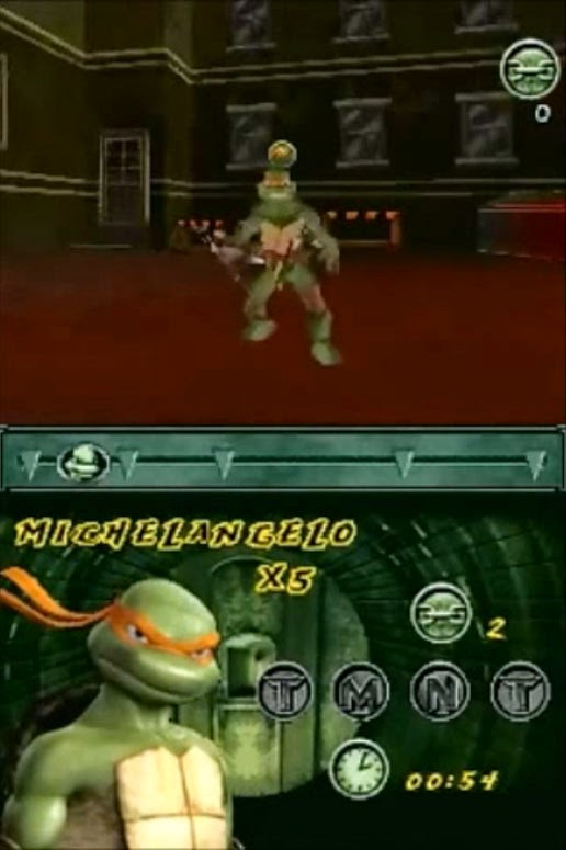 The Huh Tmnt Nintendo Ds Review 2007 Game