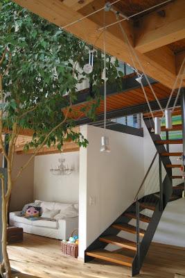 ausziehbare treppen holz br stungsh he fenster k che. Black Bedroom Furniture Sets. Home Design Ideas