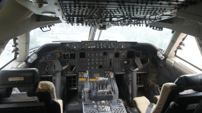 Carnet de route d 39 un angevin a l 39 interieur d 39 un boeing for Interieur 747