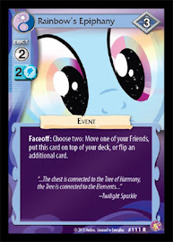 My Little Pony Rainbow´s Epiphany Absolute Discord CCG Card