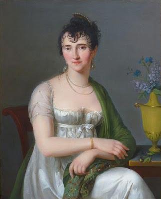 Portrait de Clémentine Olivier de Corancez, baronne Dubois (1800), Constance Charpentier