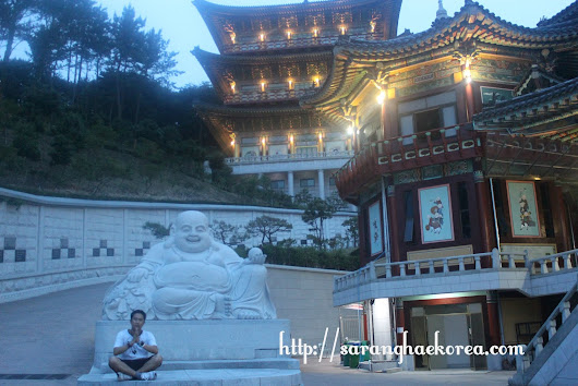 Samgwangsa (삼광사)- A Buddhist Temple in the Hillside of Busan
