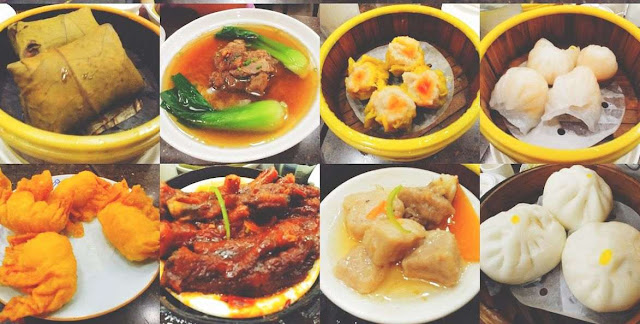 King Chef Dimsum Kitchen menu selections