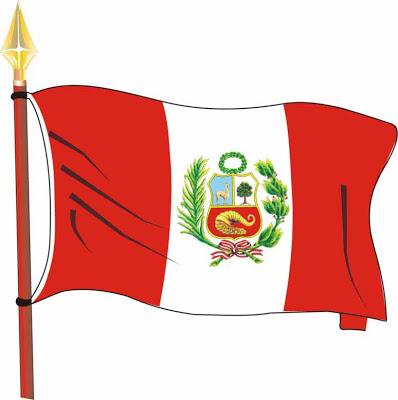 Imagen: Bandera Nacional del Perú o bandera peruana