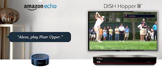 echo control tv, amazon echo setup, alexa smartthings, amazon echo app, alexa turn on tv, amazon alexa integration, hopper on dish, DISH Network