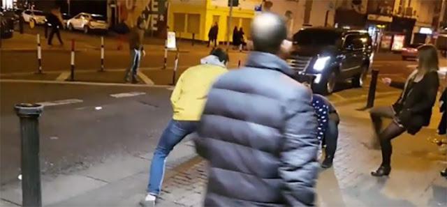 Jugaban a a las peleas en la calle y se llevan una sorpresa
