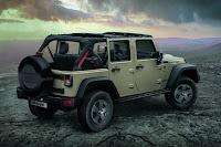 Jeep Wrangler Rubicon Recon 4 Door (2017) Rear Side