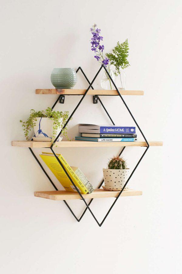 Model Desain Rak Dinding Buku Minimalis