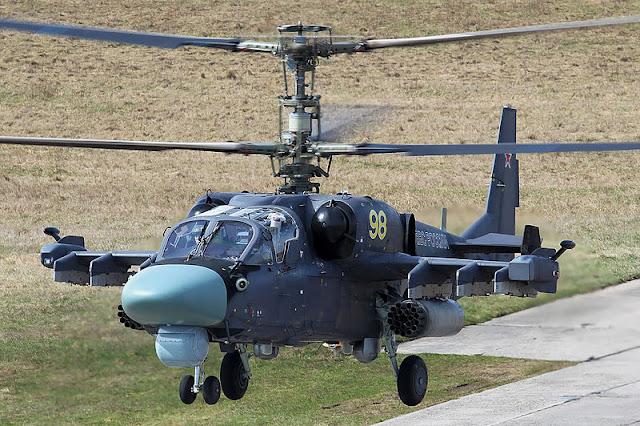 Gambar 07. Foto Helikopter Tempur Kamov Ka-52 Alligator