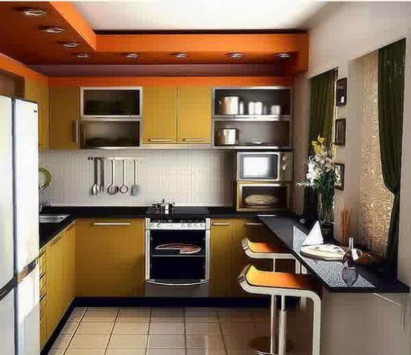 Gambar desain dapur minimalis yang moderen untuk wanita masakini