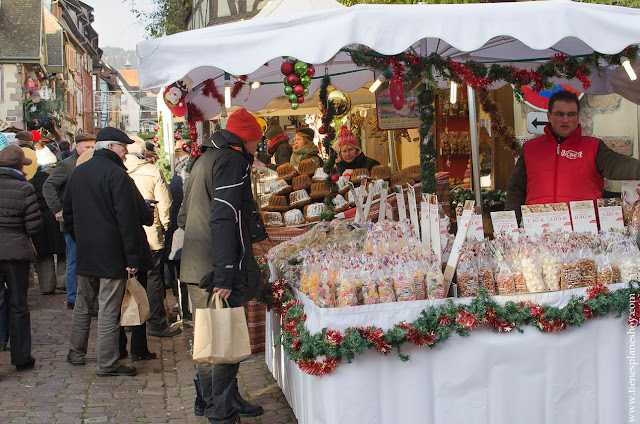 Riquewihr Mercado Navidad Alsacia