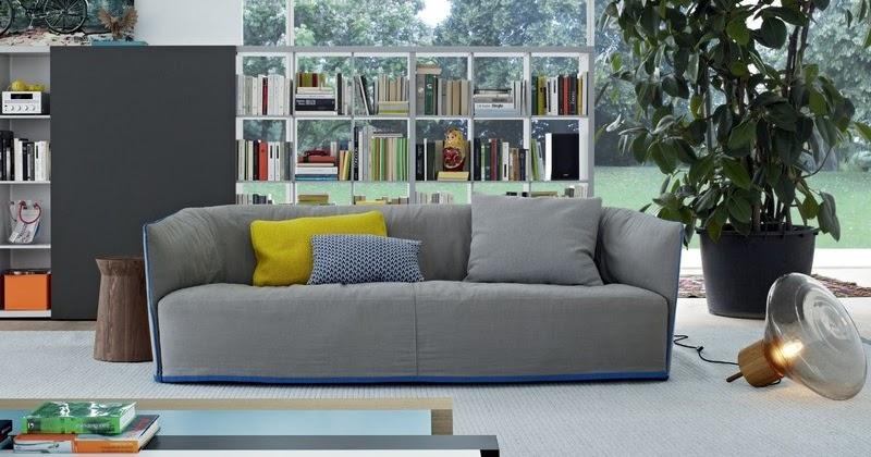 Sof cinza a apar ncia elegante atemporal decora o e ideias - Atemporal sofas ...