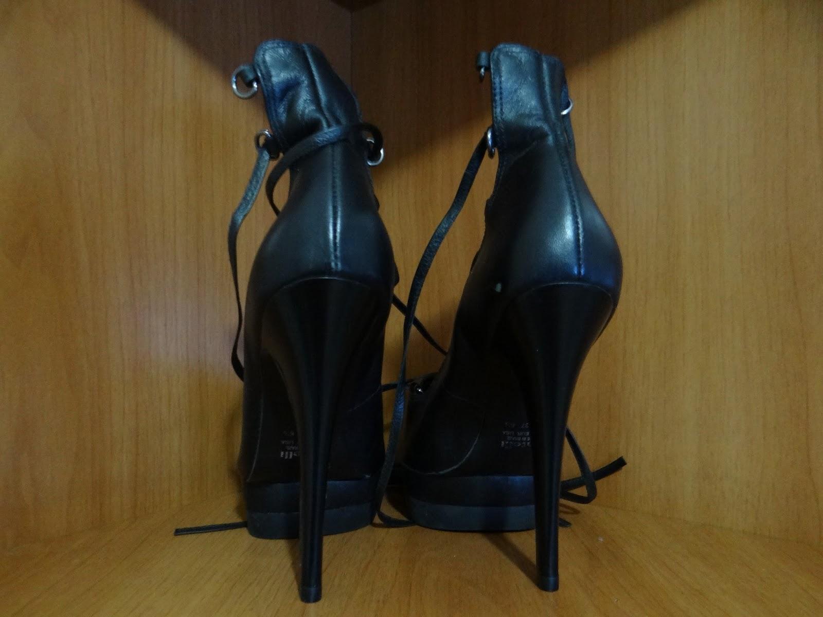 2355d2d543 Não coube no armário  Sapato Datelli com amarração